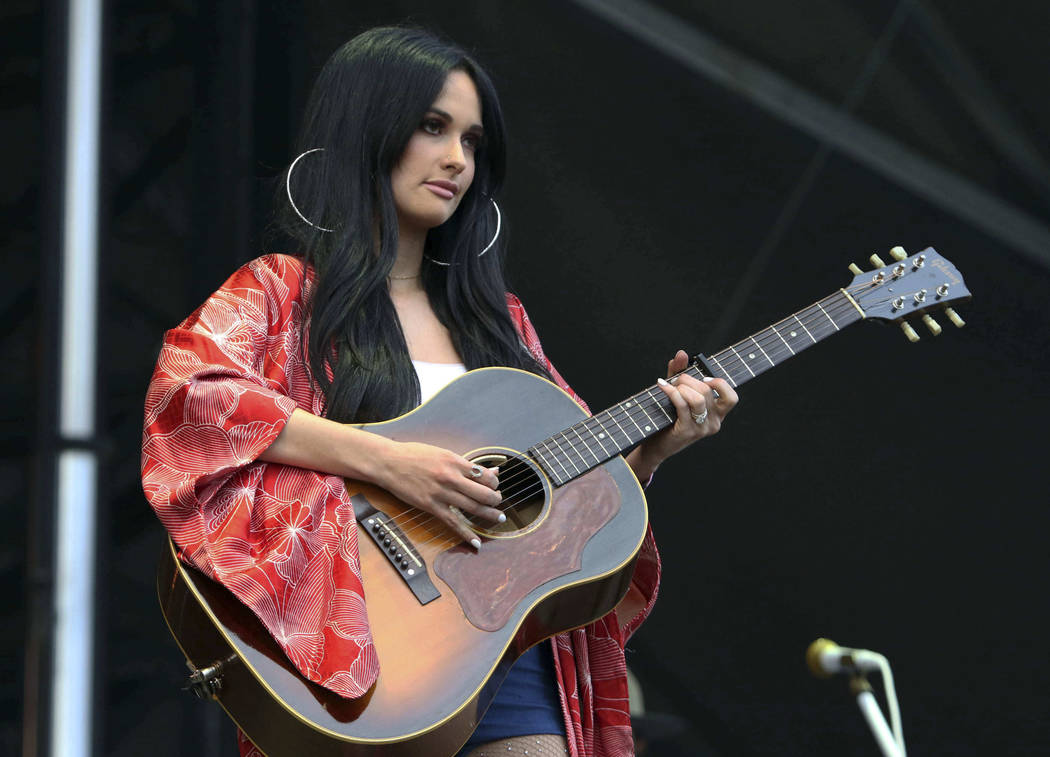 Kacey Musgraves received five nominations in the 54th Academy of Country Music Awards, announced Wednesday, Feb. 20, 2019. (Katie Darby/Invision/AP, File)