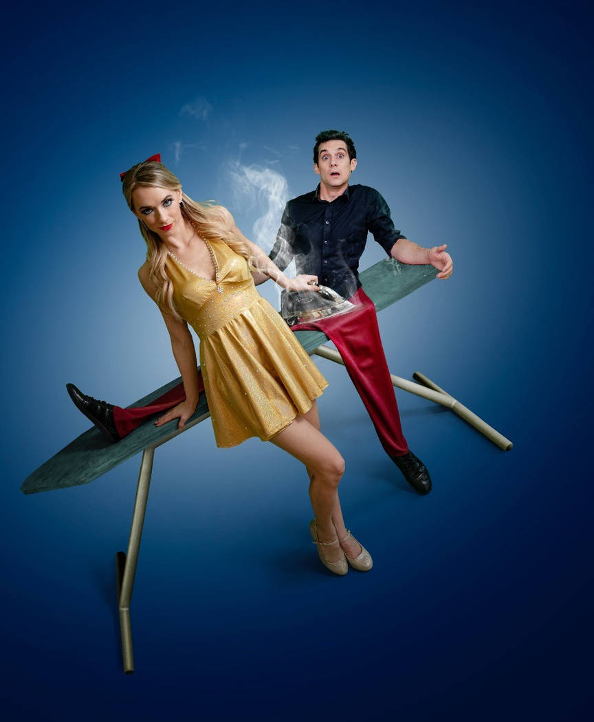 """Xavier Mortimer, shown with Allie Sparks,is moving his """"Magical Dream"""" show from Sin City Theater at Planet Hollywood to Bally's Windows Showroom on Jan. 19. (Seb Konopix)"""