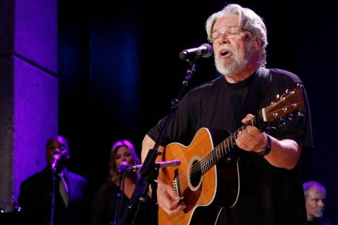 Bob Seger performs at the Country Music Hall of Fame Inductions on Sunday, Oct. 21, 2012 in Nashville, Tenn. (Photo by Wade Payne/Invision/AP)