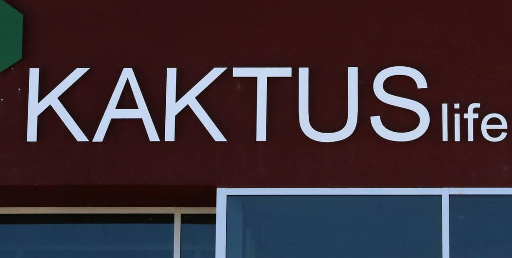 Kaktus Life, a luxury apartment building at 10650 Dean Martin Drive in Las Vegas, should open to tenants in April. (Bizuayehu Tesfaye/Las Vegas Review-Journal) @bizutesfaye
