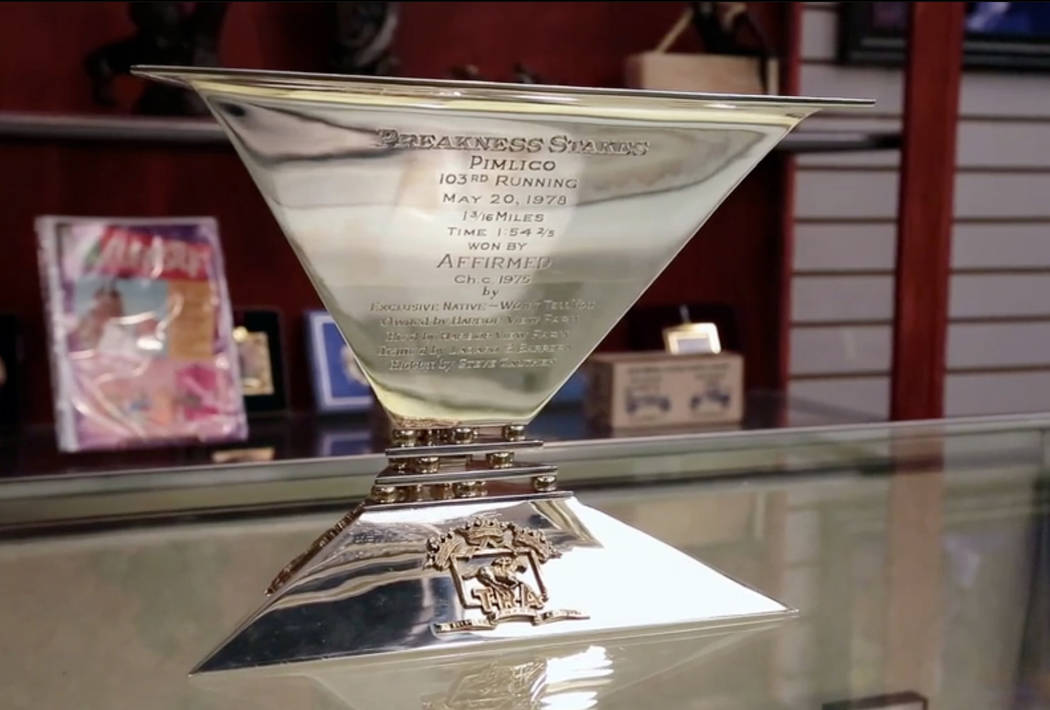 How Affirmeds Triple Crown Trophy Ended Up In Pawn Stars Las