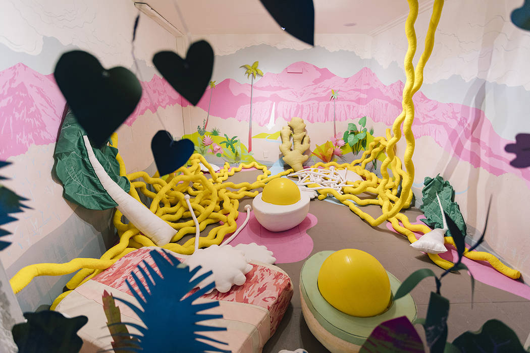 The Art Motel featured 21 rooms including one from a ramen dimension. Meow Wolf