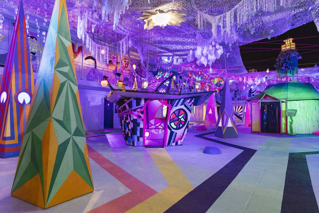 Meow Wolf's art installation at Life is Beautiful 2017. (Lindsey Kennedy/Meow Wolf)