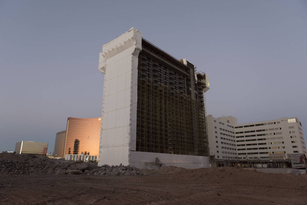 The Las Vegas Convention and Visitors Authority will sell the 10 acres where the Riviera once stood, the organization's top executive said Thursday, Feb. 21, 2019. (Jason Ogulnik/Las Vegas Revie ...