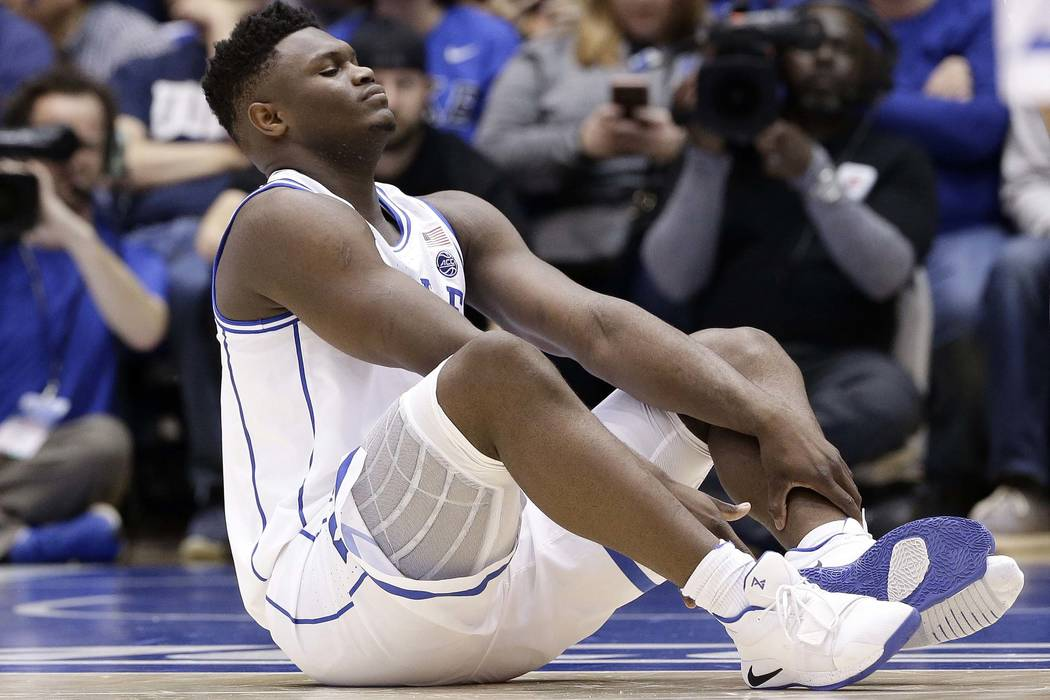 Image result for zion injury