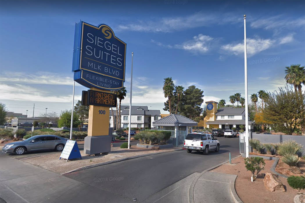 Siegel Suites on Martin Luther King Boulevard in Las Vegas. (Google)