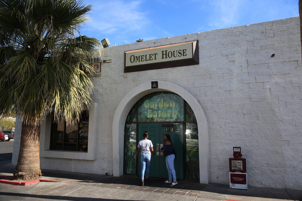 The Omelet House in Las Vegas, Friday, Feb. 1, 2019. (Erik Verduzco/Las Vegas Review-Journal) @Erik_Verduzco