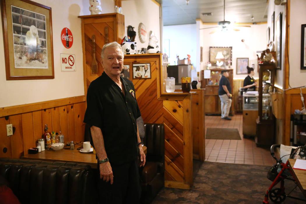 Senior partner Michael McGowan give s tour of the Omelet House in Las Vegas, Friday, Feb. 1, 2019. (Erik Verduzco/Las Vegas Review-Journal) @Erik_Verduzco