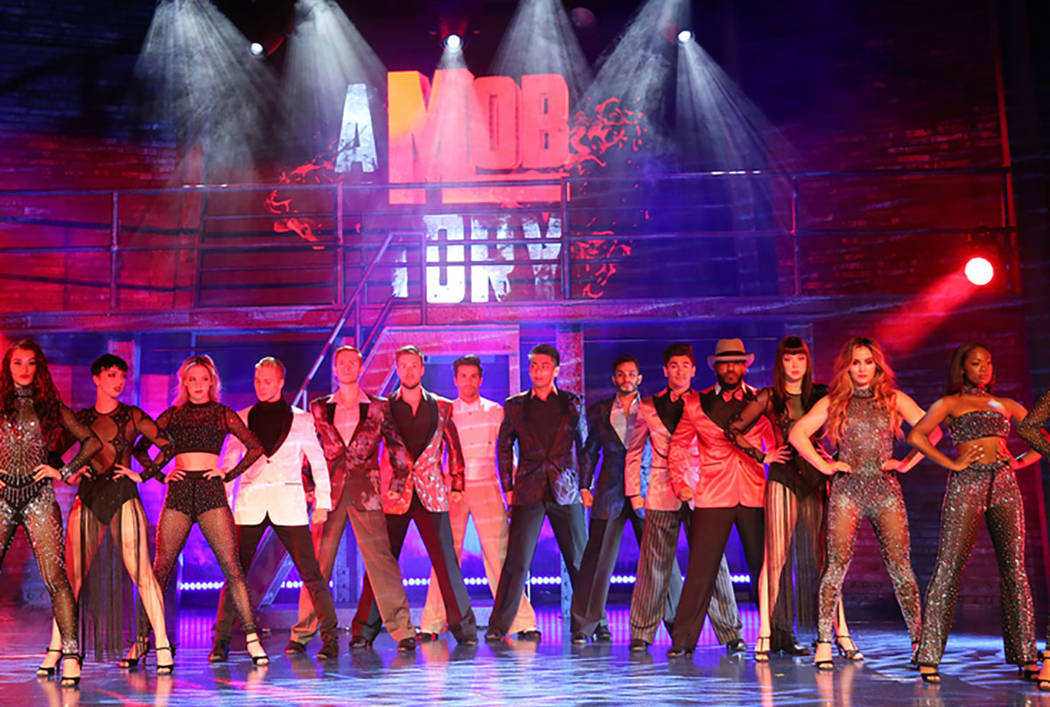 """""""A Mob Story"""" at the Plaza Showroom in Las Vegas Thursday, Sept. 13, 2018. K.M. Cannon Las Vegas Review-Journal @KMCannonPhoto"""