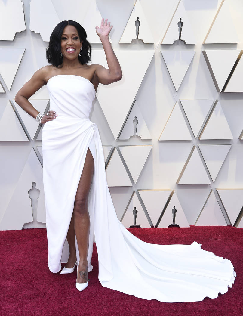 Regina King arrives at the Oscars on Sunday, Feb. 24, 2019, at the Dolby Theatre in Los Angeles. (Photo by Richard Shotwell/Invision/AP)