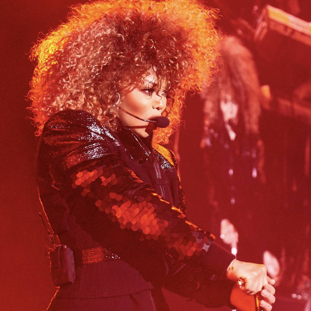 """Janet Jackson is performing 15 shows this spring and summer in """"Metamorphosis"""" at the Park Theater. (Solaiman Fazel)"""