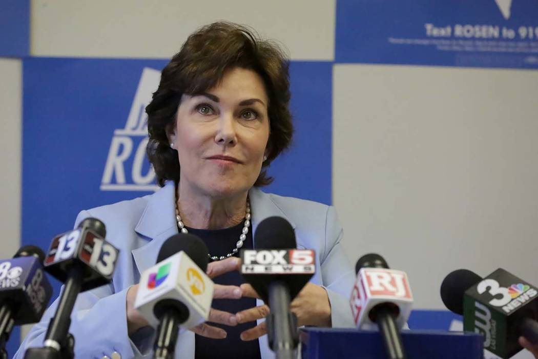 U.S. Sen. Jacky Rosen, D-Nev. (Michael Quine/Las Vegas Review-Journal) @Vegas88s