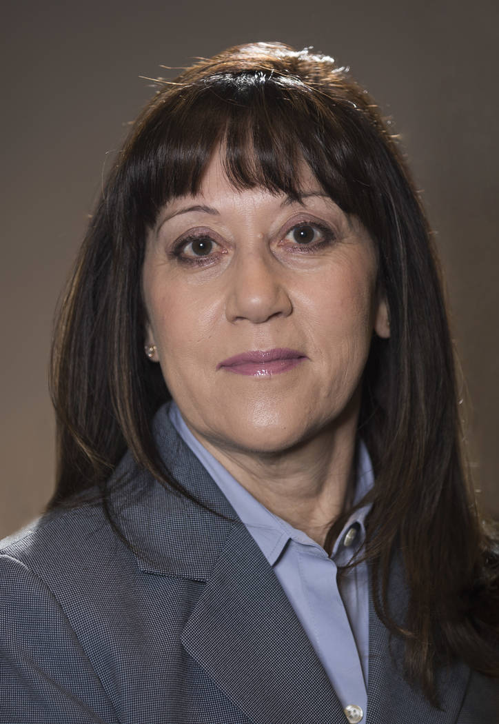 Special to the Pahrump Valley Times/Valley Electric Association Angela Evans, interim CEO of Valley Electric Association Inc. Evans was appointed by VEA's board of directors on May 4, 2018 afte ...