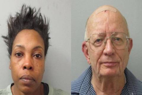 Chequita Jenkins and John Chapman (Huntsville Police Department)