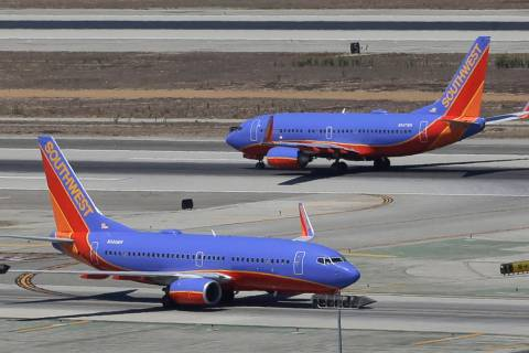 Southwest Airlines says it has gained government approval to begin flights between California and Hawaii, capping a long effort that was delayed by the government shutdown. (AP Photo/Reed Saxon, File)