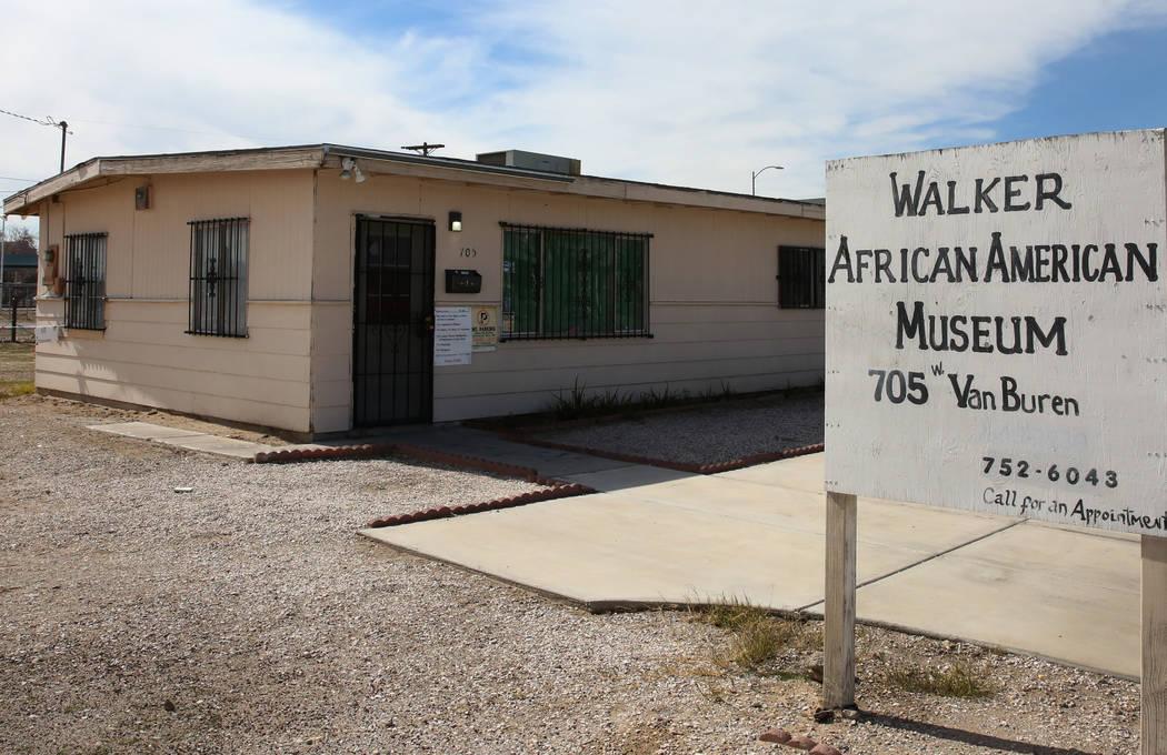 DONT USE NOT IN STORY Walker African American museum is seen on Monday, Feb. 25, 2019, in Las Vegas. Bizuayehu Tesfaye Las Vegas Review-Journal @bizutesfaye