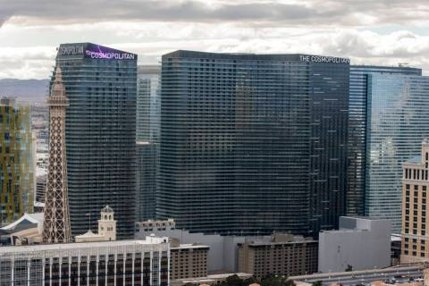 The Cosmopolitan of Las Vegas has filed for permission to leave NV Energy. (Patrick Connolly/Las Vegas Review-Journal)