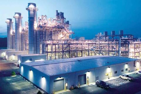 Las Vegas City Council will consider approving a letter of intent to negotiate an energy purchasing agreement with Texas-based Tenaska Power Services Co. Pictured is Tenaska Virginia Generating St ...