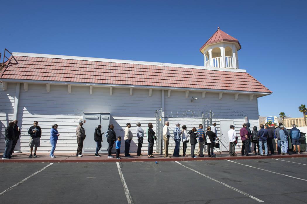 The Primm Valley Lotto Store near the Nevada-California border. (Caroline Brehman / Las Vegas Review-Journal @carolinebrehman)