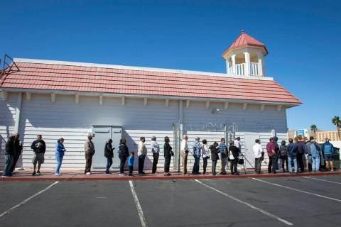 The Primm Valley Lotto Store near the Nevada-California border. (Caroline Brehman / Las Vegas Review-Journal @carolinebrehman)
