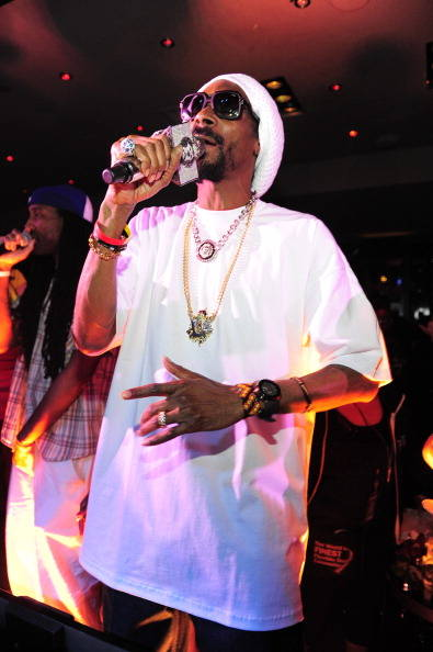 Snoop Dogg performs at 1 OAK at The Mirage on May 25, 2013, in Las Vegas. (Steven Lawton/WireImage)