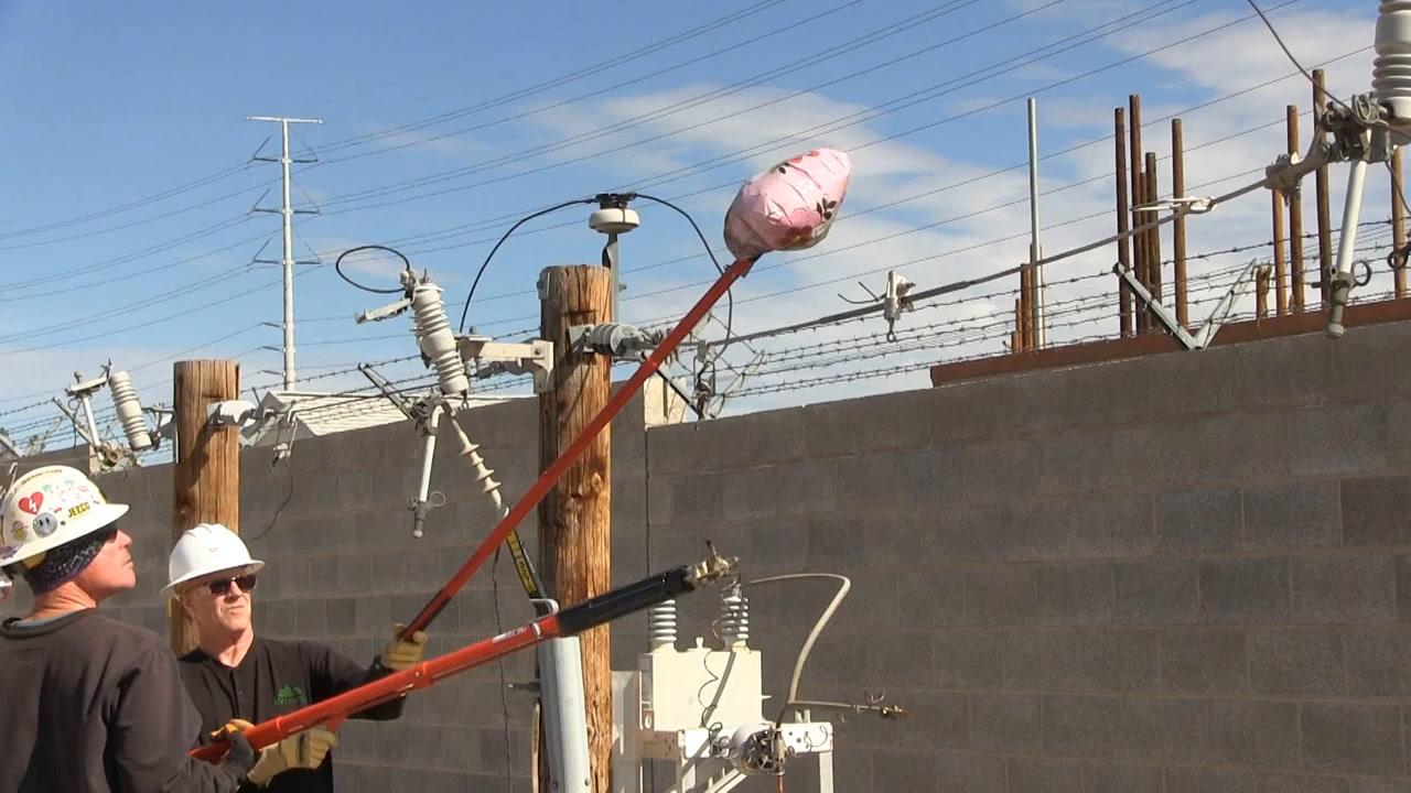 NV Energy shows dangers of Mylar balloon release | Las Vegas