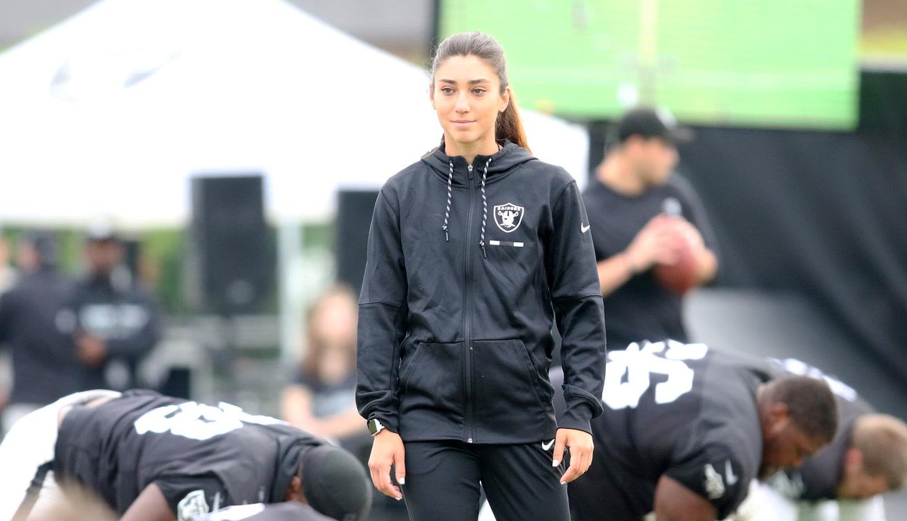 Kelsey Martinez No Longer Listed On Raiders Coaching