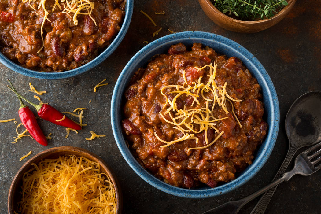 Chili. Getty Images