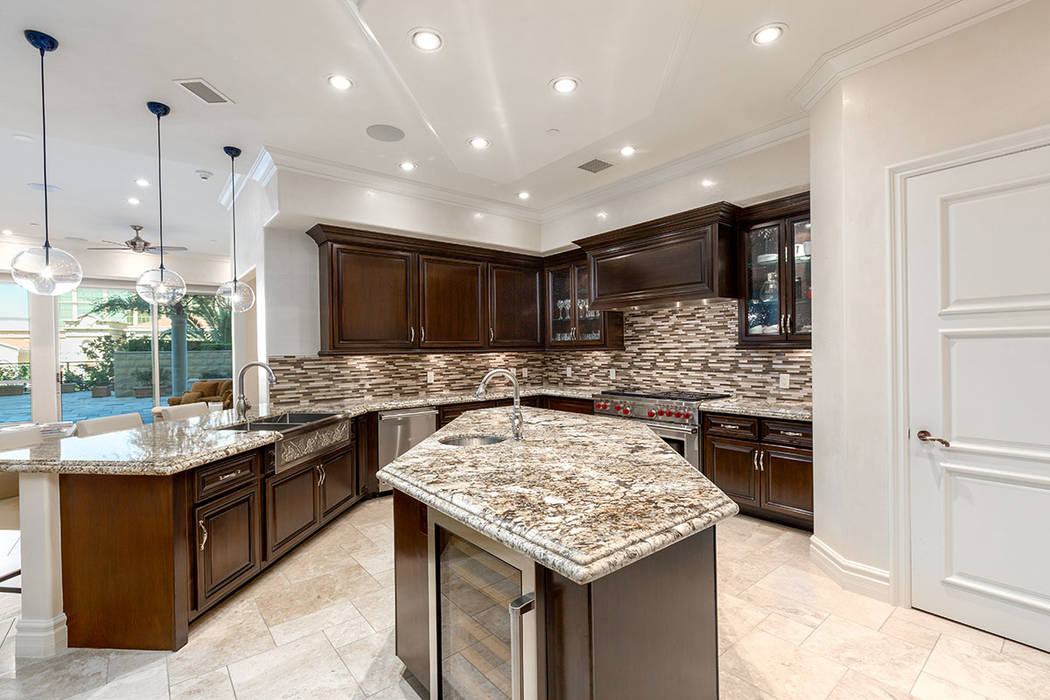 The kitchen has been remodeled. (Ivan Sher Group)