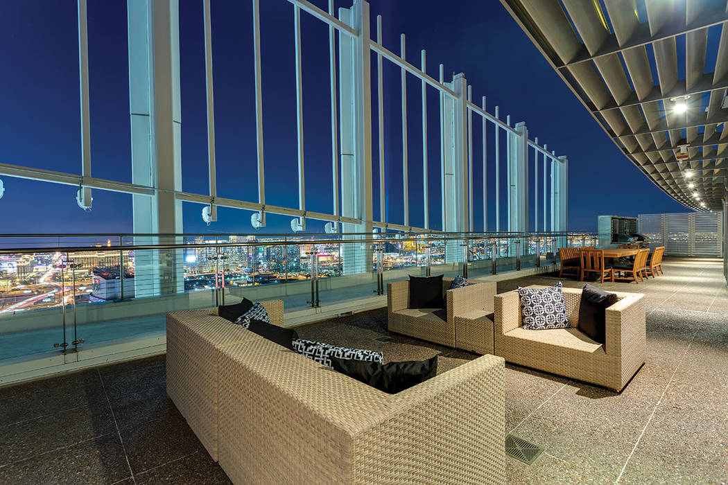 The penthouse has 25,000 square feet of rooftop space. (Ivan Sher Group)