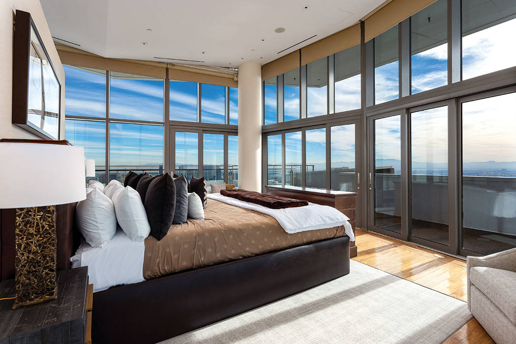 The master bedroom opens to the rooftop. (Ivan Sher Group)