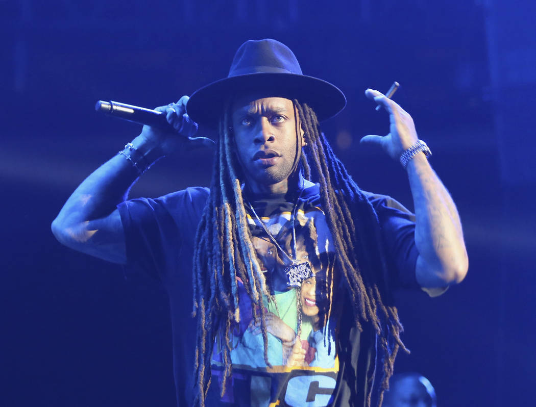 Ty Dolla Sign performs at the 2017 BET Experience at The Staples Center on Thursday June 22, 2017, in Los Angeles. (Photo by Willy Sanjuan/Invision/AP)