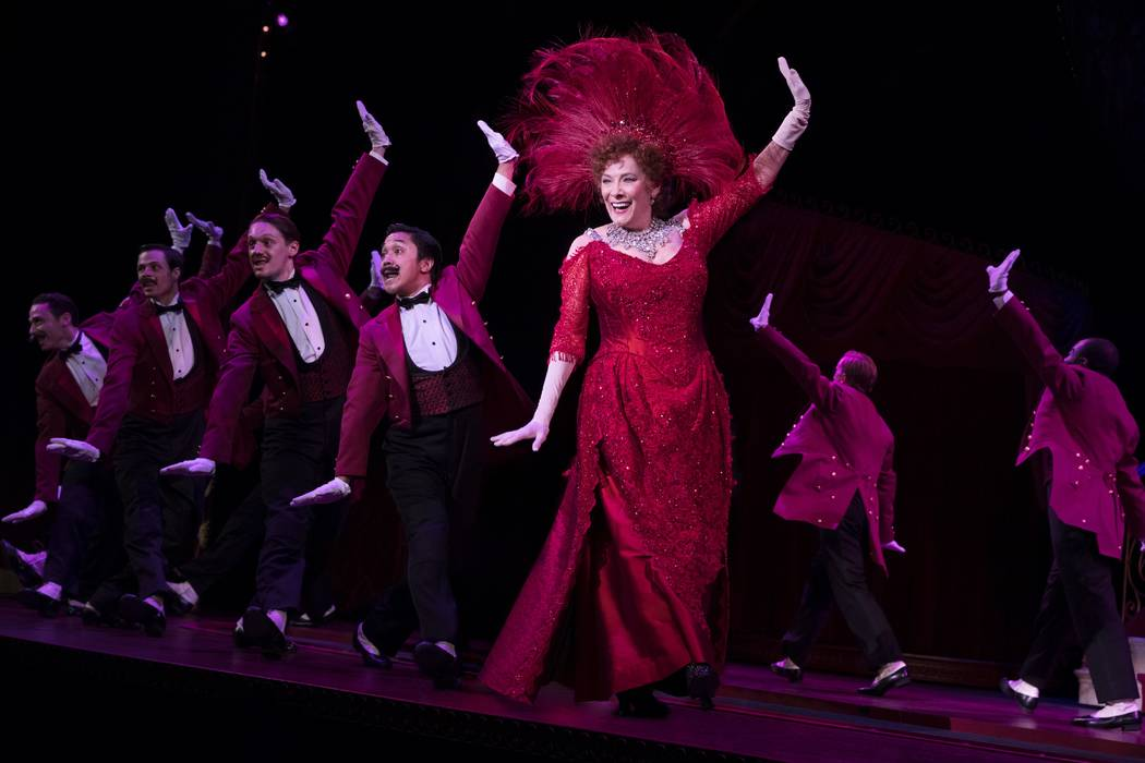 "Betty Buckley stars in ""Hello, Dolly!,"" which opens an eight-show run Tuesday at The Smith Center's Reynolds Hall. (Julieta Cervantes)"