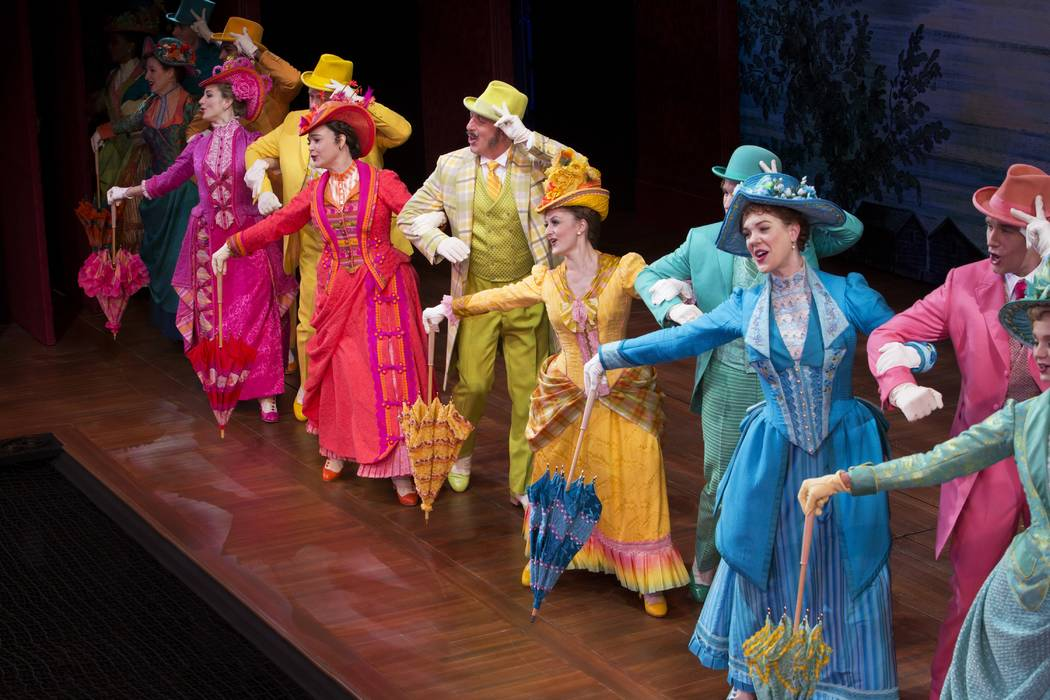 """Hello, Dolly!"" opens an eight-show run Tuesday at The Smith Center's Reynolds Hall. (Julieta Cervantes)"