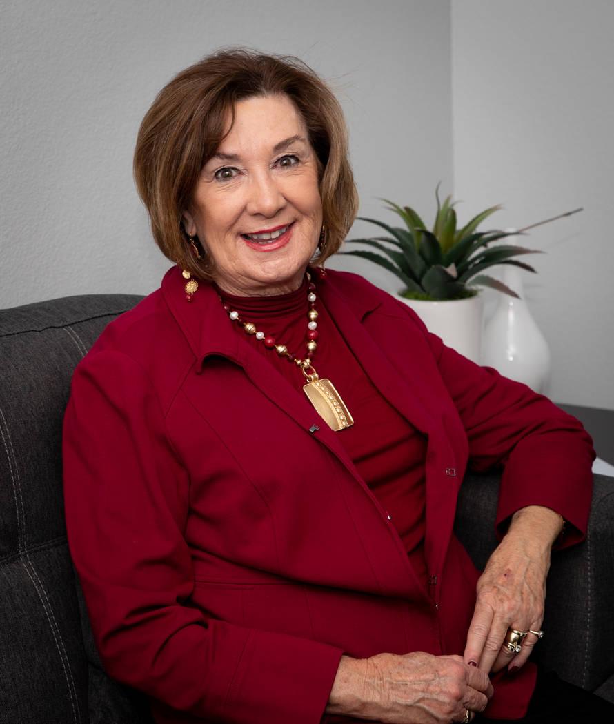 Bill Hughes RJRealEstate.Vegas Janet Carpenter, 2019 GLVAR president