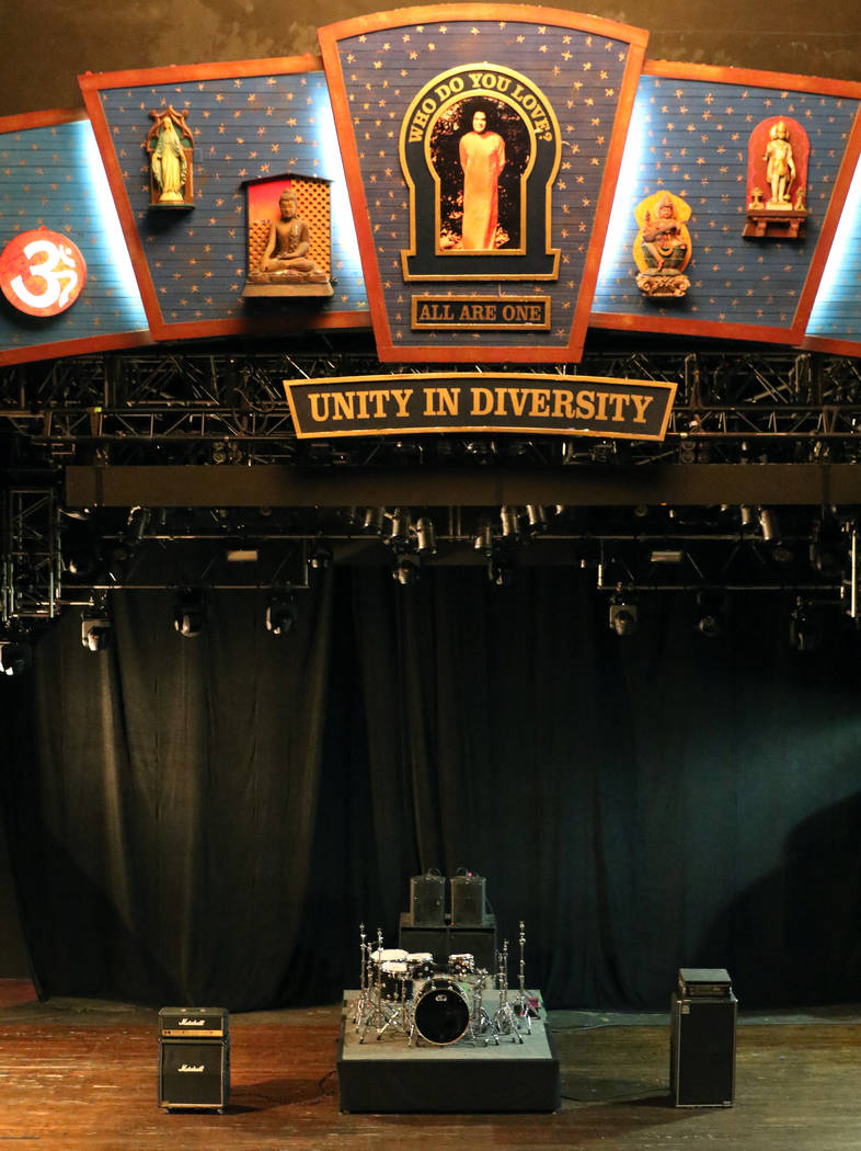 The House of Blues stage at Mandalay Bay hotel-casino photographed on Friday, Feb. 22, 2019, in Las Vegas. Bizuayehu Tesfaye Las Vegas Review-Journal @bizutesfaye