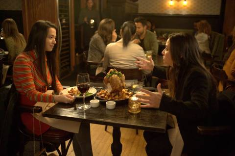 """BETTER THINGS """"Chicago"""" Episode 1 (Airs Thursday, February 28 10:00 pm/ep) -- Pictured: (l-r) Mikey Madison as Max, Pamela Adlon as Sam Fox. CR: Suzanne Tenner/FX"""