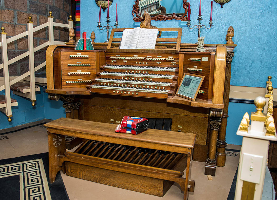 Randy Johnston has several pipe organs in the home and plays them often. (Tonya Harvey Real Estate Millions)