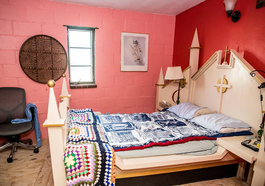 A bedroom on the ground floor. (Tonya Harvey Real Estate Millions)