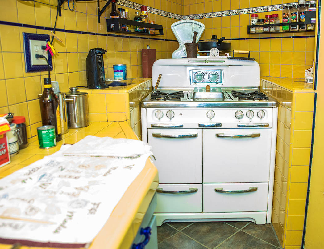 Randy Johnston found a working old-fashioned stove for his kitchen. (Tonya Harvey Real Estate Millions)
