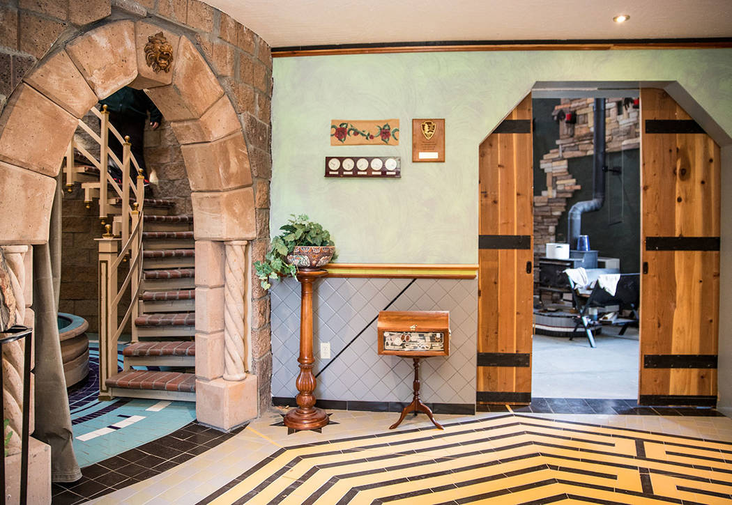 The entrance to the castle greets visitors. It has become an tourist attraction over the years. (Tonya Harvey Real Estate Millions)