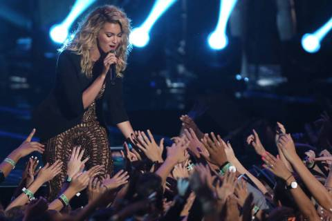 Tori Kelly performs at the MTV Video Music Awards at the Microsoft Theater on Sunday, Aug. 30, 2015, in Los Angeles. (Photo by Matt Sayles/Invision/AP)