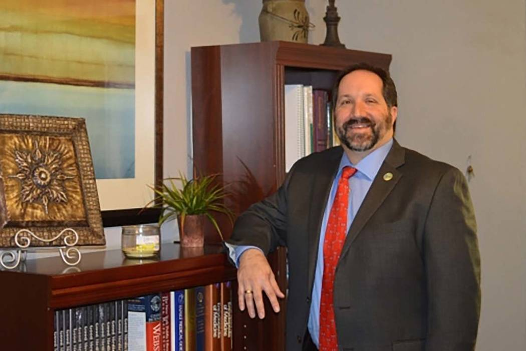 Dr. Andy Eisen is taking on a new role as chief academic officer at Valley Health System. Stephanie Annis/Special to the Las Vegas Business Press/file photo