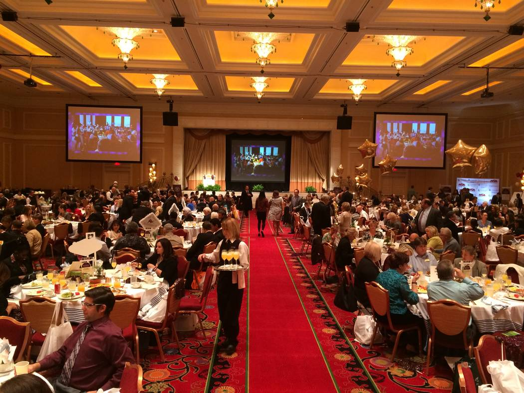 Berkshire Hathaway HomeServices, Nevada Properties held its awards ceremony on Friday at the Encore. BHHS Nevada