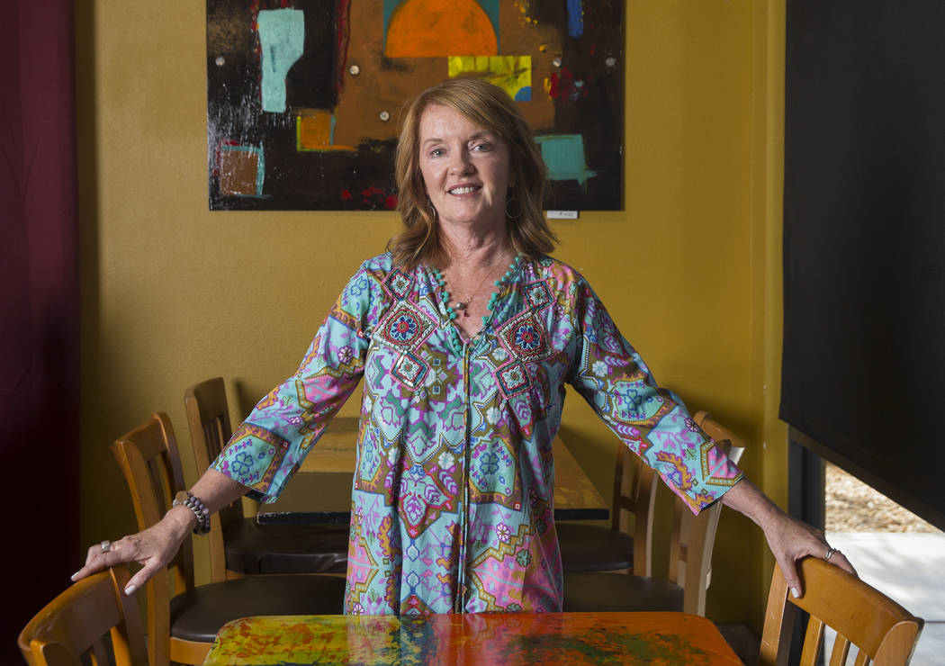 Pasta Shop Ristorante owner Ann Alenik on Wednesday, Aug. 22, 2018, in Henderson. Benjamin Hager Las Vegas Review-Journal @benjaminhphoto