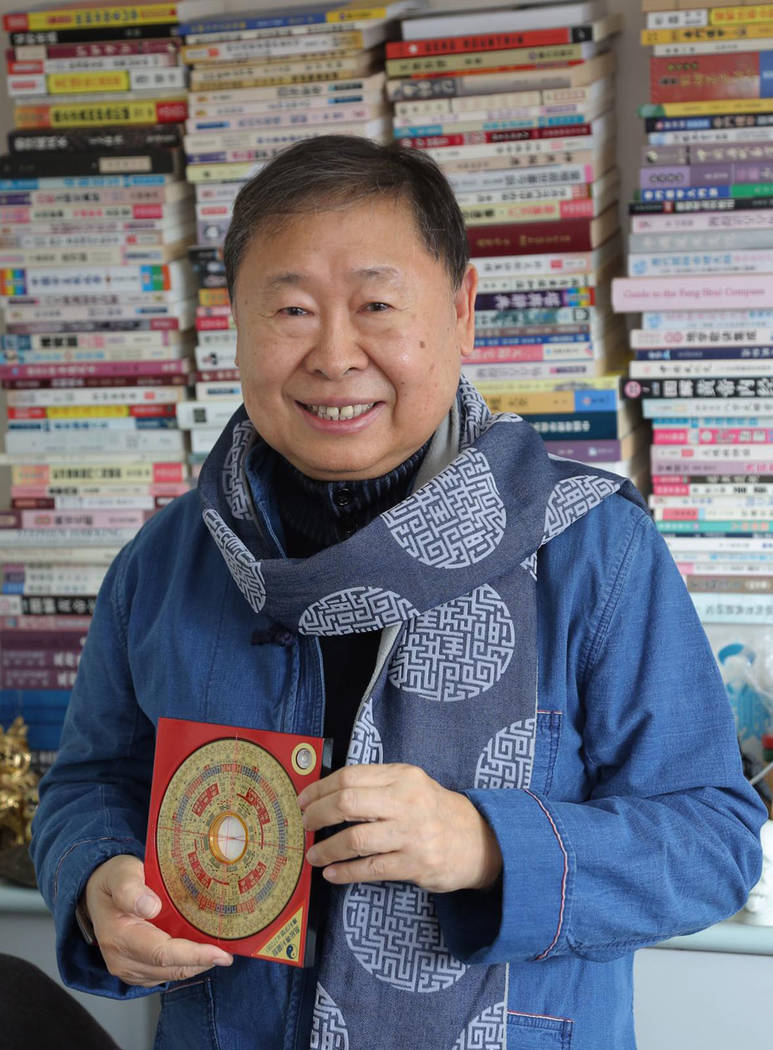 Grand Master Raymond Lo of Hong Kong