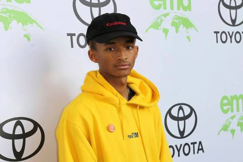Jaden Smith arrives at the 28th Annual EMA Awards at the Montage Beverly Hills on Tuesday, May 22, 2018, in Beverly Hills, Calif. (Willy Sanjuan/Invision/AP)