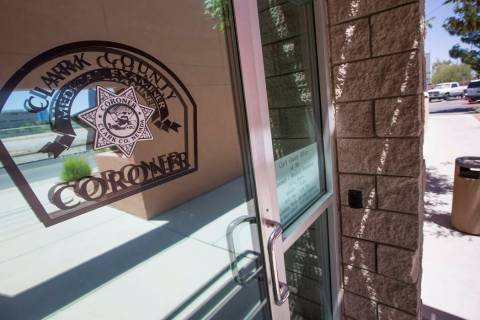 The Clark County Coroner and Medical Examiner office located at 1704 Pinto Lane in Las Vegas on Tuesday, May 23, 2017. (Richard Brian/Las Vegas Review-Journal)