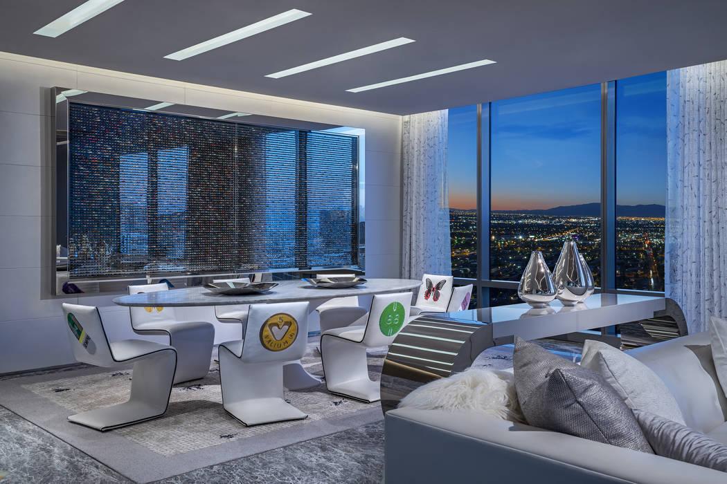 Empathy Suite Sky Villa by Damien Hirst (Palms Las Vegas)