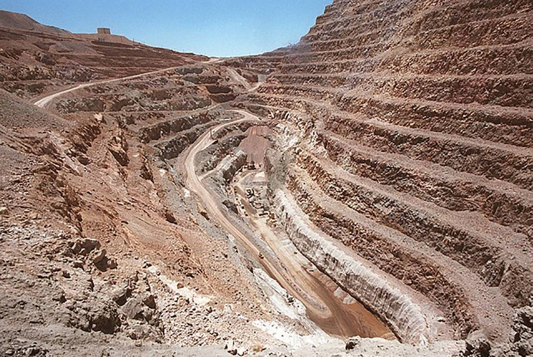 A Barrick Gold Corp. mine is seen in Nevada. (Las Vegas Review-Journal)